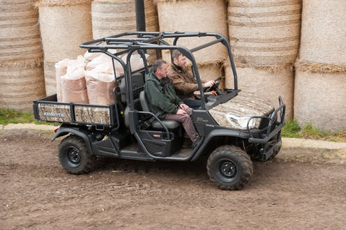 RTV-X1140 Kubota utility vehicle