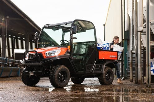 RTV-X900 Kubota utility vehicle