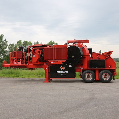 23X Chiparvestor Whole Tree Chipper