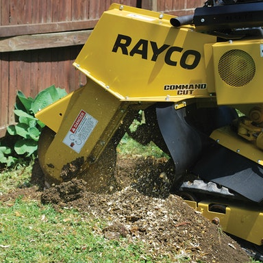 RG37T Trac Jr Stump Cutter