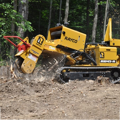 RG45T Trac Jr Stump Cutter