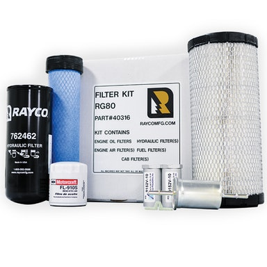 Rayco Stump Cutter Filter Kits