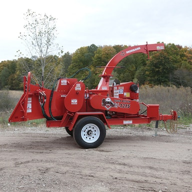 Eeger Beever 1215 Brush Chipper Morbark Products