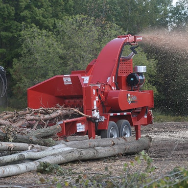 M20R Forestry Whole Tree Drum Chipper