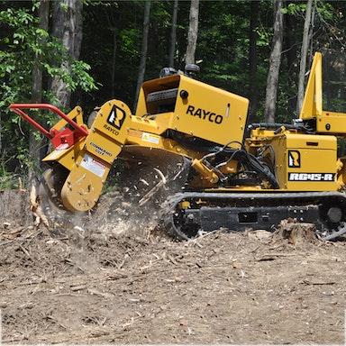 RG45T Trac Jr Stump Cutter